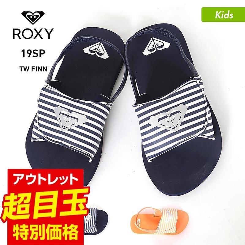 ROXY 12cm〜16cm ビーチサンダル AROL100012