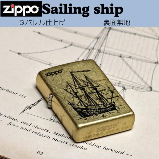 zippo(ジッポーライター)帆船 200ベース ハンセン Gバレル ゴールドバレル 画像5