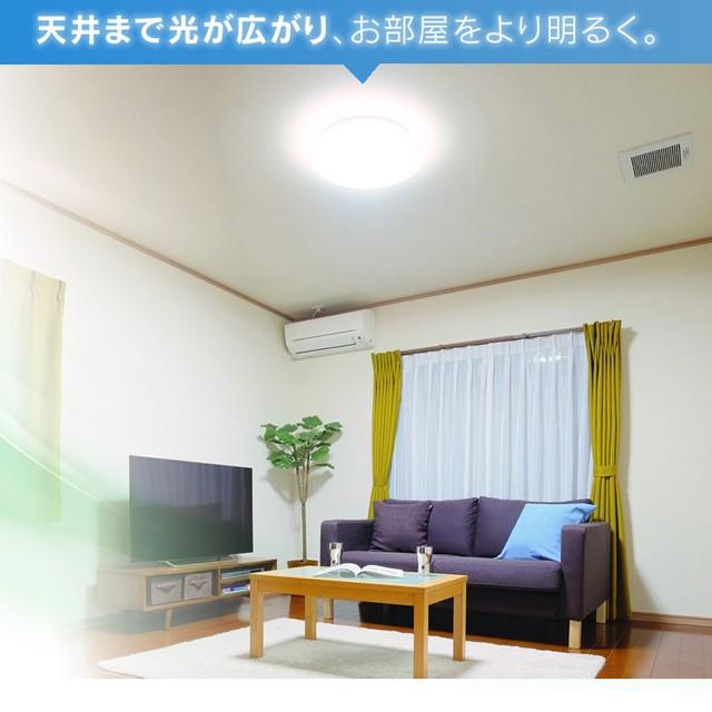 天井まで光が広がる。光沢施工フレームでさらに美しい光り方
