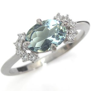 ダイヤ指輪 リボン