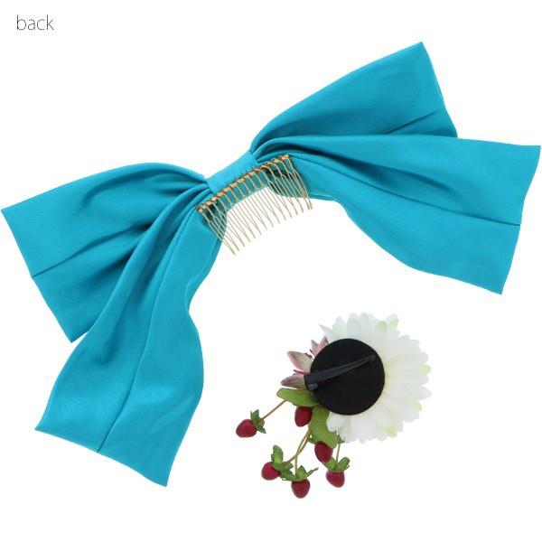 髪飾り2点セット 成人式の振袖に、卒業式の袴にも 華やか髪飾り