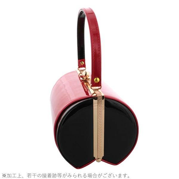 振袖 草履 バッグ 成人式 「レッド×ブラック No.2」 シンプルな無地 草履Lサイズ 24cm前後 女性用 レディース 振袖用草履バッグセット <R>【メール便不可】