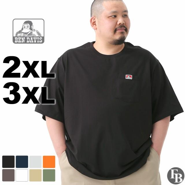 [ビッグサイズ] BEN DAVIS ベンデイビス tシャツ メンズ 半袖 ブランド アメカジ 大きいサイズ オーバーサイズ 夏服
