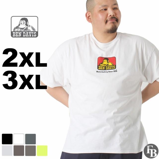 [ビッグサイズ] ベンデイビス Tシャツ 半袖 メンズ 大きいサイズ USAモデル|ブランド BEN DAVIS|半袖Tシャツ ロゴT アメカジ ビッグシルエット