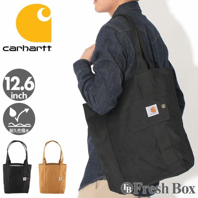 Carhartt カーハート トートバッグ メンズ ブランド a4 縦型 大きめ 型掛け メンズ 肩掛け バッグ 撥水加工 [carhartt-244702] (USAモデル)