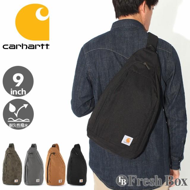 Carhartt カーハート ボディバッグ メンズ ブランド 大容量 大きめ メンズ 肩掛け バッグ 撥水加工 [carhartt-261205] (USAモデル)