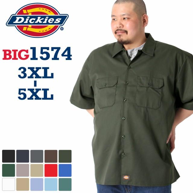 Dickies ワークシャツ BIG