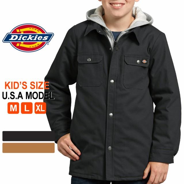 ディッキーズ シャツジャケット 子供用