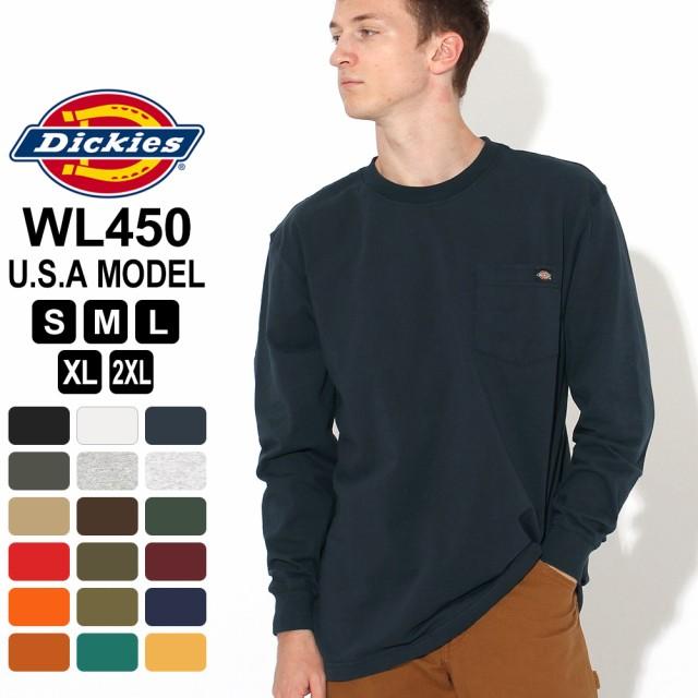 Dickies 長袖ポケットTシャツ