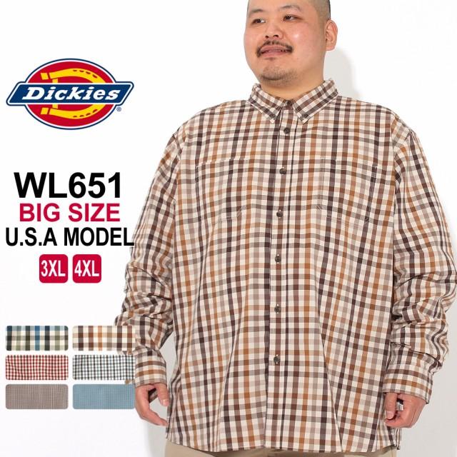 Dickies チェックシャツ BIG