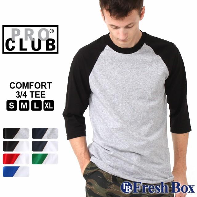 PRO CLUB ラグランTシャツ