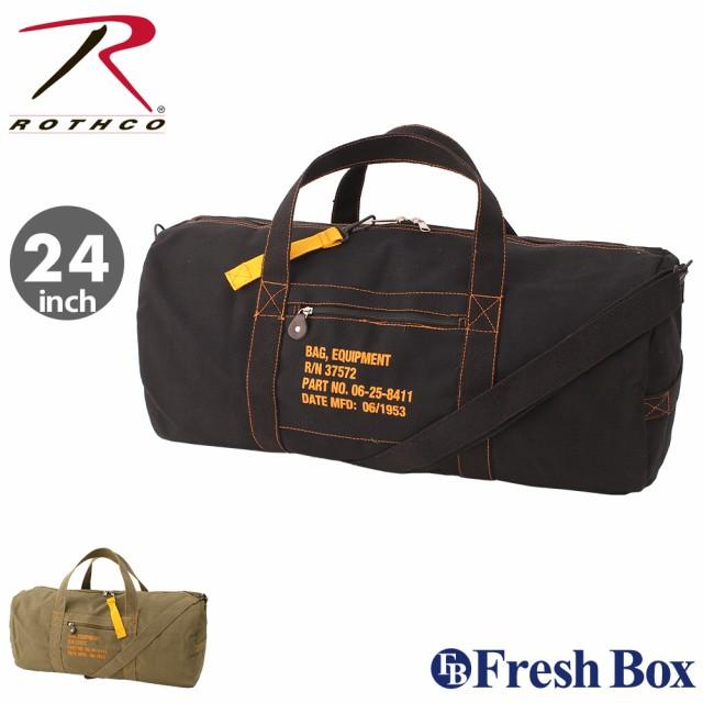 ROTHCO ロスコ バッグ ボストンバッグ メンズ ダッフルバッグ ミリタリー ショルダーバッグ 斜めがけ アウトドア キャンバス [24インチ] (USAモデル)