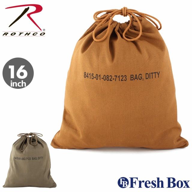ROTHCO ロスコ バッグ ランドリーバッグ キャンバス ミリタリー アウトドア キャンプ 旅行用 (USAモデル)