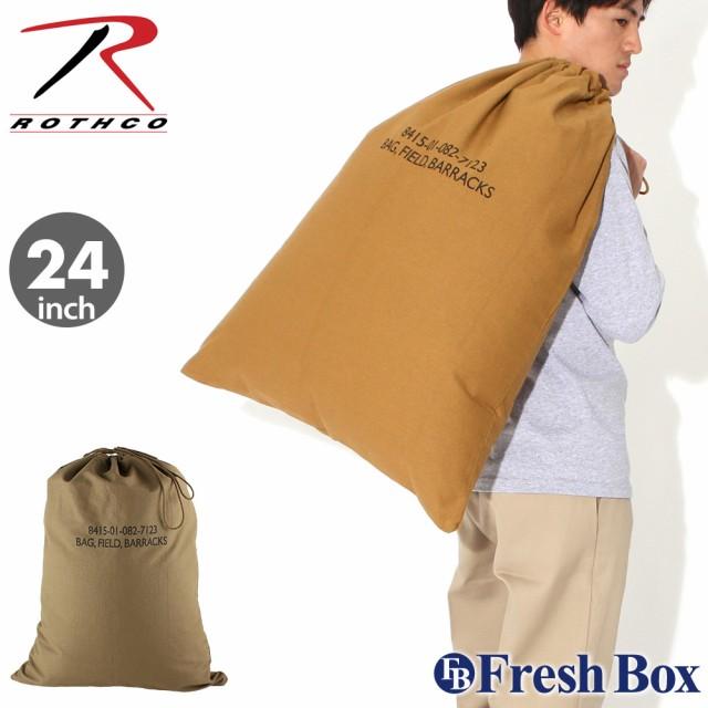 ROTHCO ロスコ バッグ バラックスバッグ アウトドア 米軍 ミリタリー ランドリーバッグ 18x27 Canvas Barracks Bag [rothco-2574-2674] (USAモデル)