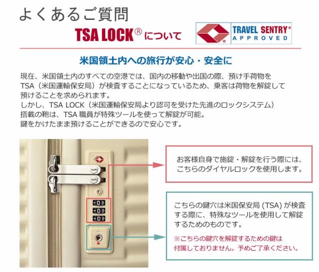 TSAロックについて