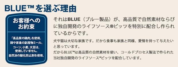 BLUE TMを選ぶ理由