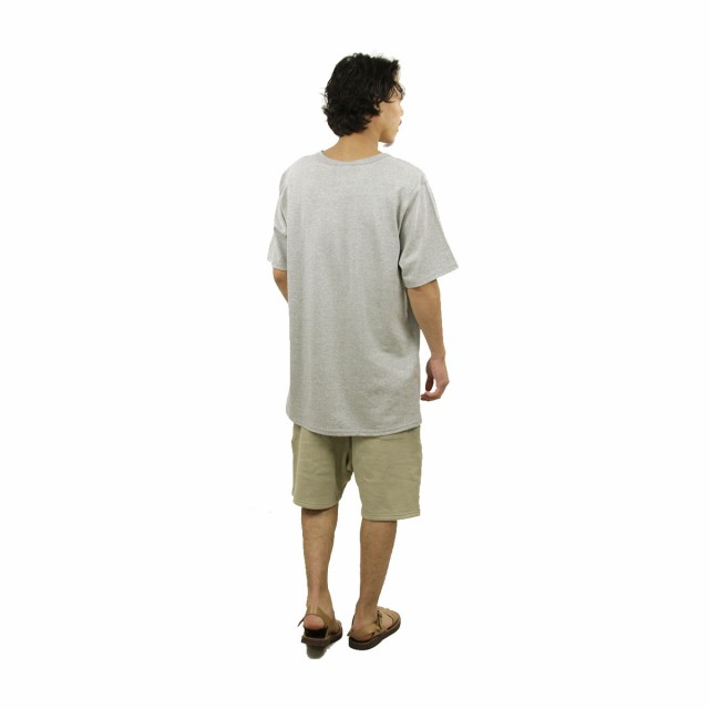 チャンピオン CHAMPION 正規品 メンズ 半袖Tシャツ CREW TEE T1919P Heritage Tee 806-OXFORDGREY #549500 PATRIOTIC C