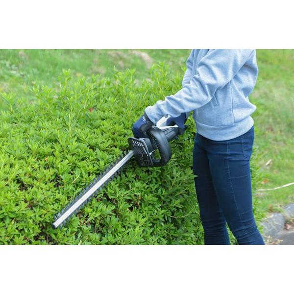 芝刈り機刈払機芝刈機庭雑草防虫緑除草草刈り機草刈機充電式ヘッジトリマー18VJHT530アイリスオーヤマ