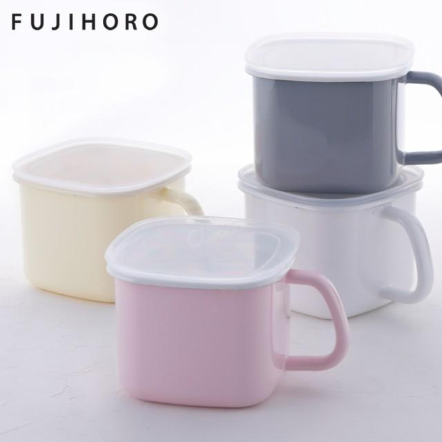 富士ホーロー,角型味噌ポット,N-KP,ホーロー容器