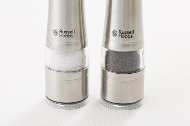 Russell Hobbs,ラッセルホブス,電動ミル ペッパー,電動ミル 岩塩,7922JP,おしゃれ,キッチン家電,通販
