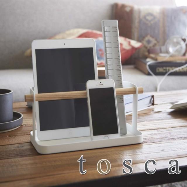 木とスチールの組み合わせが美しいタブレット&リモコンラック。 PCタブレット・リモコン・スマートフォンを同時に収納することができます。PCタブレットを前面に置けば収納したまま操作することができます