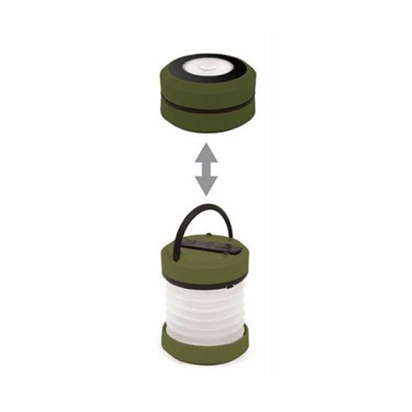 キッカーランド リチャージブル LED ランタン 手動ハンドル充電 防災グッズ