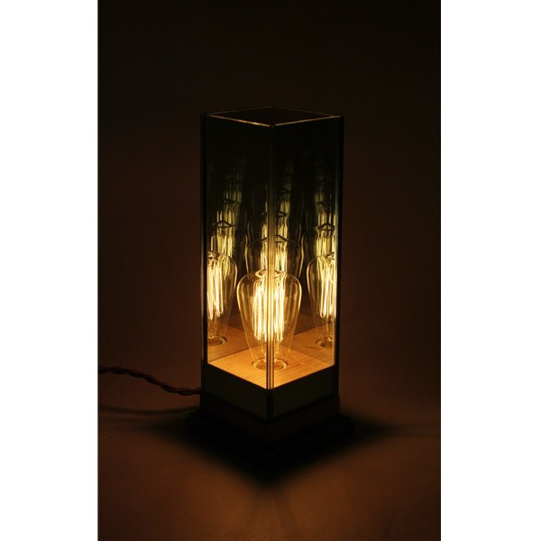 Wood Base Lamp ウッドベースランプ おしゃれな間接照明 ランプ 電気