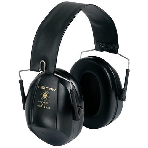 イヤーマフH515 ブルズアイI ブラック (NRR21dB) PELTOR 【防音・騒音対策】