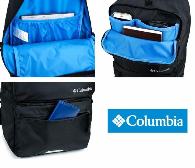 コロンビア リュック ビジネスリュック Columbia スクエアリュック メンズ 撥水 軽量 レディース 男女兼用 男子 通勤 通学 リュックサック PU8356 A4 速乾性