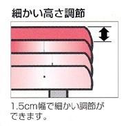 浴槽台高さ調節付き M型  【リッチェル】
