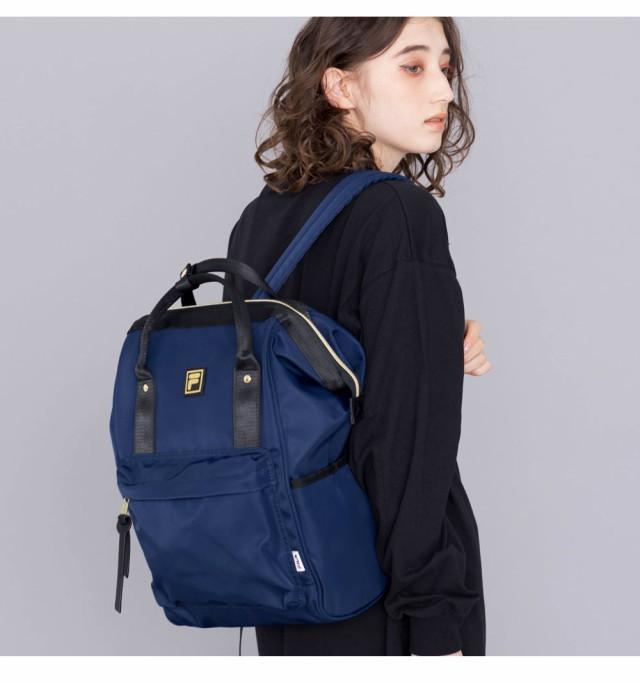 FILA リュック レディース メンズ フィラ がま口デイパック バッグ リュックサック バックパック バッグ 鞄 ブランド おしゃれ 人気 かわいい アウトドア 通勤 通学 ユニセックス ペア 大容量