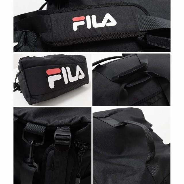 送料無料 FILA フィラ リュック メタルバックル バックパック デカリュック リュックサック デイバック 大容量 メタルリュック フラップ ガチャロック フラップリュック カジュアル 通勤 通学 fm2276 フロントポケット