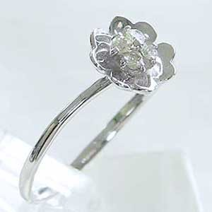 指輪ダイヤモンド リング K18WG ホワイトゴールド 指輪 プレゼント ジュエリー