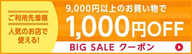 ビッグセール1000円OFF