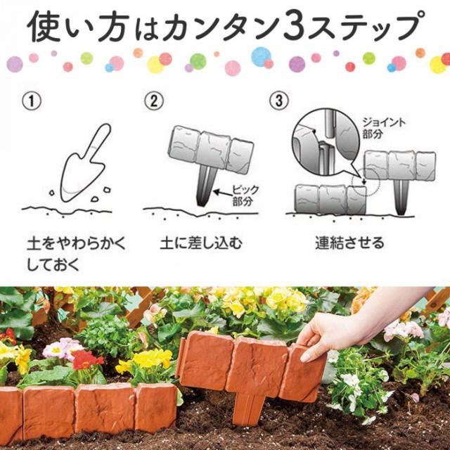 使い方1土をやわらかくしておく 2土に差し込む 3連結させる