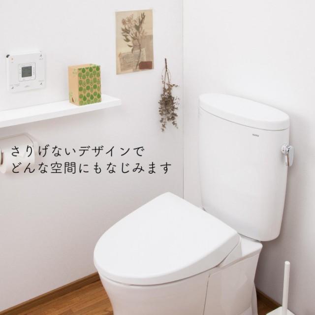 棚に置けばトイレの床掃除の際、邪魔にならない。