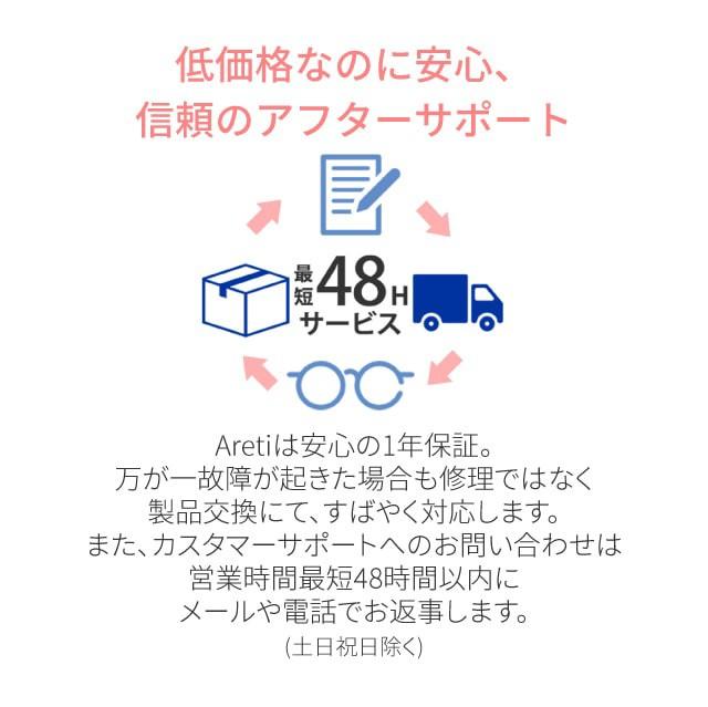 美顔器イオン導入器クラリティ:リンクル(S)目元ほうれい線Areti(アレティ)b1046/ギフト