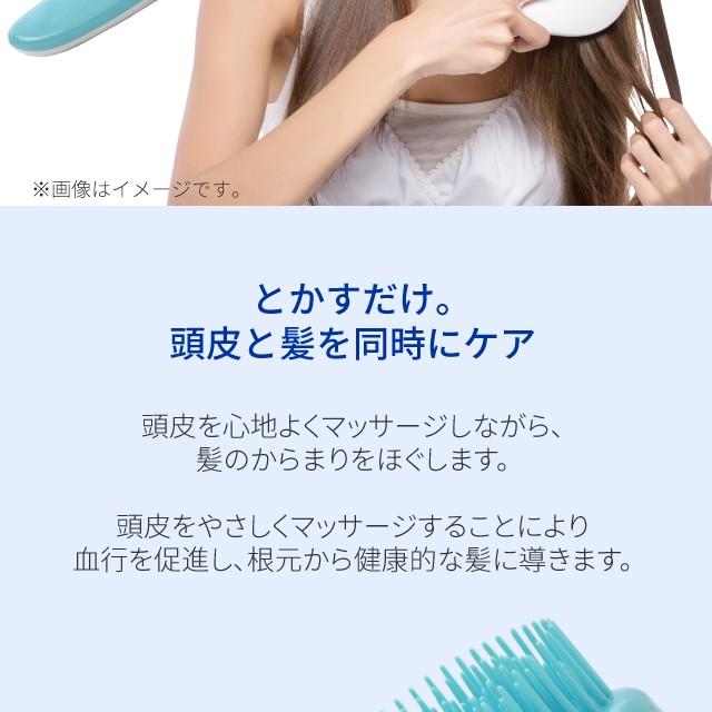 ヘアブラシ携帯用デタングル多層設計ブラシ絡まない美髪スカルプケアマッサージAreti(アレティ)673