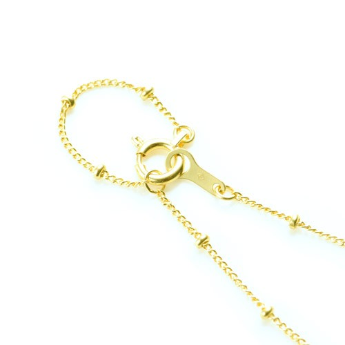 K18 necklace  K18ネックレス humming chain