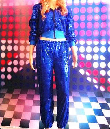 レディース ダンスウェア 上下セットアップ パーカー パンツスパンコールピンク シルバー レッド イエロー ブルー ブラック 送料無料
