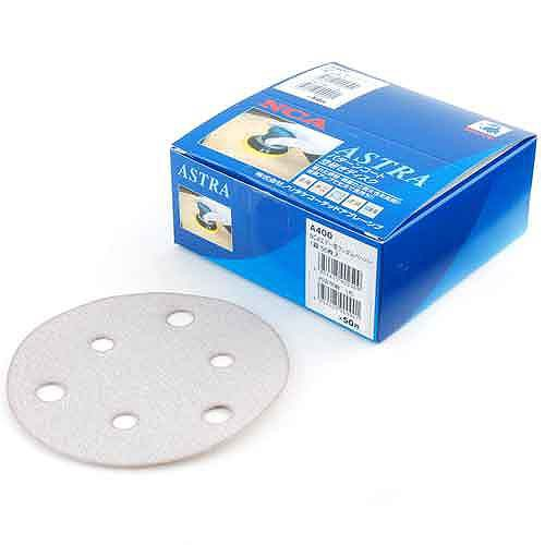 NCA・エアーランダムペーパー50枚・A−400・先端工具・電動アクセサリー・サンダーペーパー・DIYツールの画像