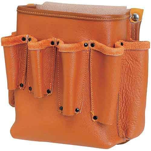 SK11・エバースキン万能電工腰袋・SEDK−MH・収納用品・腰袋サック1・革腰袋サック1・DIYツールの画像