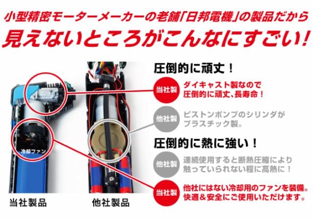 小型精密モーターメーカーの老舗「日邦電機」の製品だから見えないところがすごい!