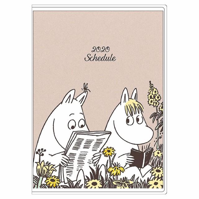 ムーミン 手帳 2020年 B6 マンスリー Moomin 北欧 キャラクター スケジュール帳 令和2年 手帖 メール便可