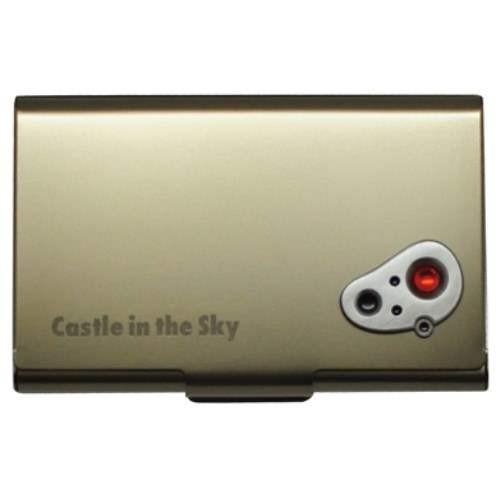 天空の城ラピュタ 名刺入れ メタルカードケース アンティーク ジブリ キャラクターグッズ メール便可