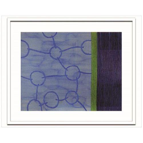 取寄品 送料無料 Sybille Hassinger インテリア アート デザイナーズアート Untitled HAS919 額付き抽象画通販