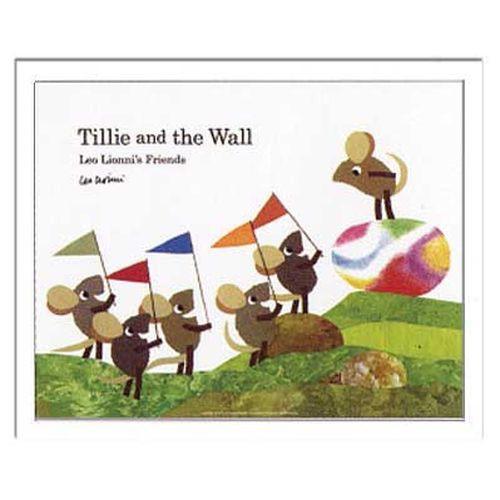 取寄品 送料無料 レオ レオニ Leo Lionni インテリア アート Kids Art Tillie and the Wall 額付き子供部屋インテリ