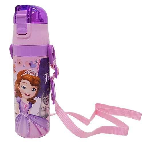 ちいさなプリンセス ソフィア 保冷専用水筒 ロック付きワンプッシュマグボトル 17 ディズニー キャラクター グッズ