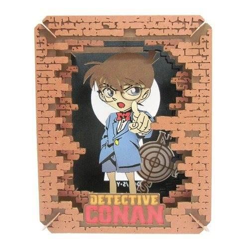 名探偵コナン ペーパークラフトキット ペーパーシアター 江戸川コナン アニメキャラクターグッズ メール便可