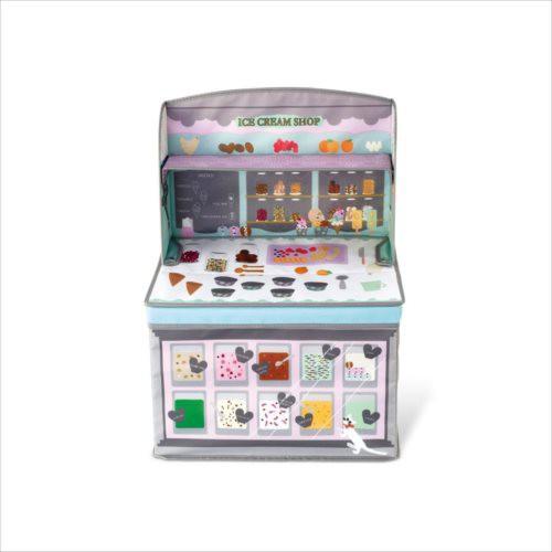 取寄品 ストレージボックス キッズ収納ボックス ホッペル アイスクリームショップ インテリア グッズ
